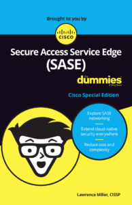Top 10 networking and security trends and challenges - Cisco Umbrella blog SASE For Dummies ebook cover