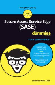Secure access service edge sase for dummies ebook cover - Cisco Umbrella Blog